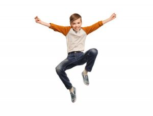 50748880 - happiness, childhood, freedom, movement and people concept - happy smiling boy jumping in air